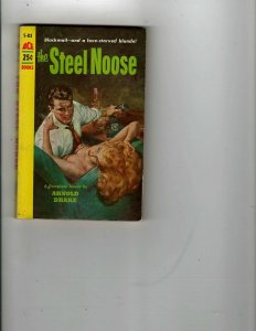 3 Books The Steel Noose Daybreak -2250 A.D. The Games of Neith Mystery JK18