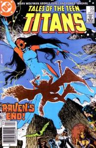 Tales of the Teen Titans #64, Fine (Stock photo)
