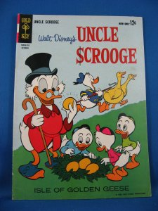 UNCLE SCROOGE 45 Fine Barks Isle of the Golden Geese 1963
