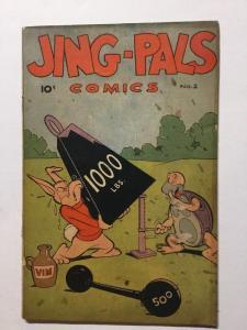 Jing-Pals Comics 2 Vg Very Good 4.0