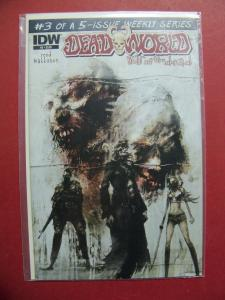 DEAD WORLD WAR OF THE DEAD #3 OF 5    (9.0 to 9.4 or better)  IDW