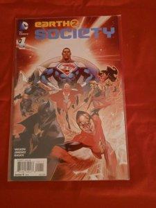 Earth 2: Society #1 DC Comics 2015 Jorge JimenezWilson Rauch NM