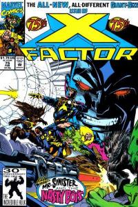 X-Factor (1986 series) #75, VF+ (Stock photo)