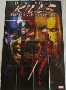 DEADPOOL KILLS THE MARVEL UNIVERSE Promo Poster, 24 x 36, 2012 MARVEL Unused 259