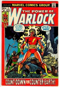 WARLOCK  (1972) 2 FINE PLUS Oct. 1972