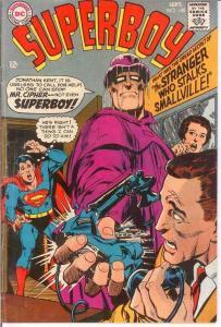 SUPERBOY 150 G+ NEAL ADAMS COVER  September 1968 COMICS BOOK