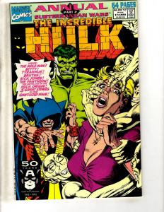 Lot Of 6 Incredible Hulk Marvel Comic Books ANNUALS # 17 18 19 20 97' 99' CR43