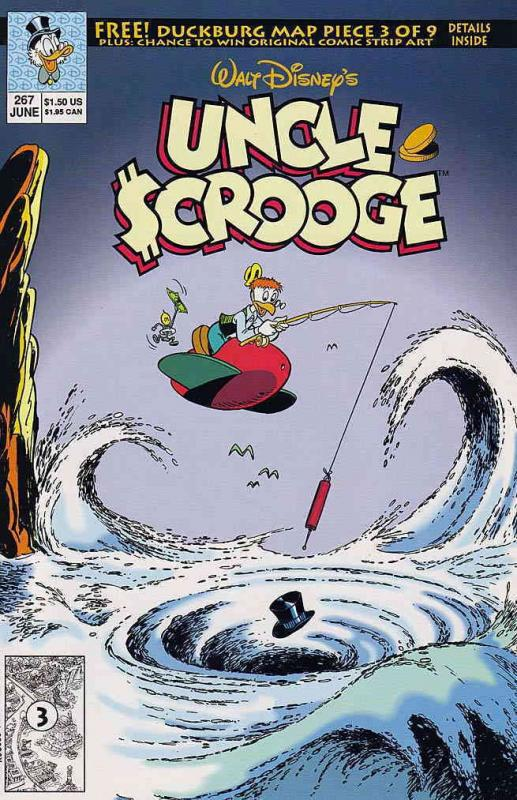 Uncle Scrooge (Walt Disney…) #267 VF/NM Gold Key - save on shipping - details in