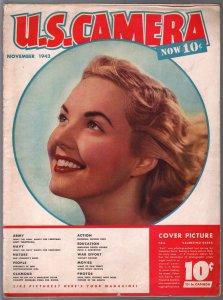 U.S. Camera 11/1942-Jewel Lindsay cover-cheesecake-glamour-WWII era-VG