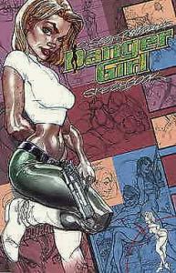 Danger Girl Sketchbook #1 VF/NM; DC   save on shipping - details inside