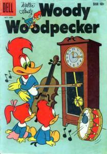Woody Woodpecker (1947 series) #51, Fine+ (Stock photo)