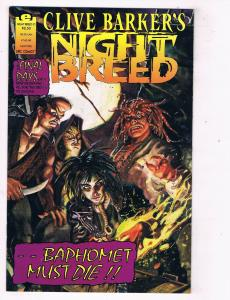 Clive Barkers Night Breed #21 VF Epic Comics Comic Book Horror DE47 AD33
