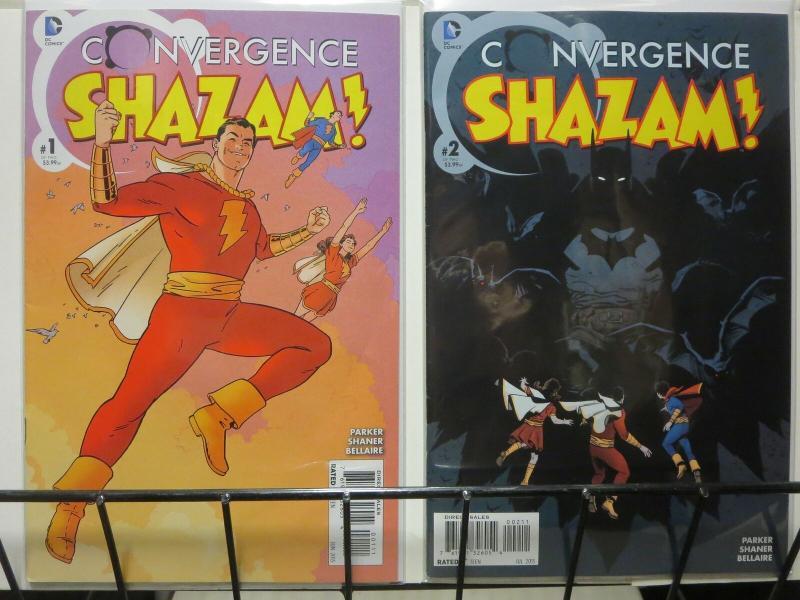 CONVERGENCE SHAZAM (2015) 1-2