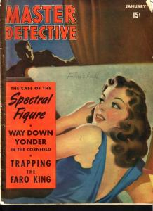 Master Detective Magazine January 1942-Trapping the Faro King