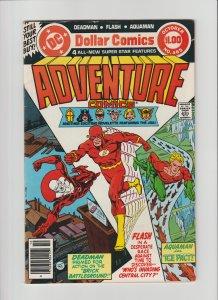Adventure Comics #465 FN- (1979, DC Comics) Cover art by Jim Aparo $1.00 Giant!!