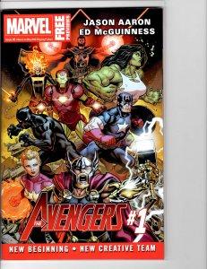 Marvel Previews #8 (2018) Avengers NM- (9.2)