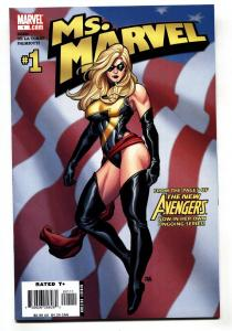 MS. MARVEL #1 1st issue-comic book 2006 NM-