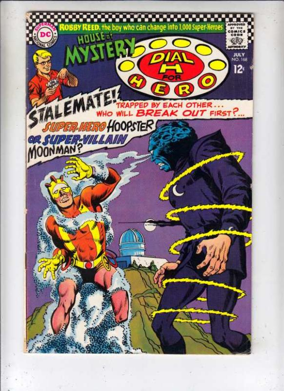 House of Mystery #168 (Jul-67) FN/VF+ Mid-High-Grade Martian Manhunter, Dial ...