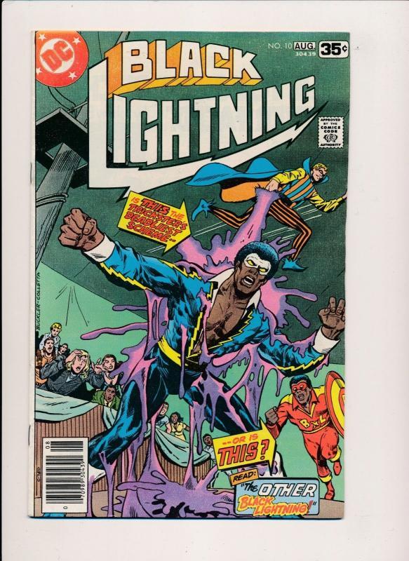 DC Comics BLACK LIGHTNING #10-11 ~ 1st series (1978) ~ F/VF (PF188)