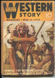Western Story 3/2/1940-Paul Strayer-Henry Sinclair Drago-WC Tuttle-G