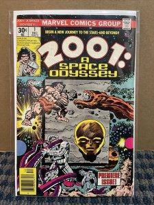 2001: SPACE ODYSSEY Comic Book, 1976 Marvel #1 Bronze Age (CB15)