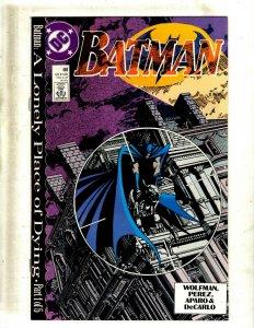 13 Batman DC Comics #440 442 444 445 446 447 448 449 450 451 452 453 455 J417