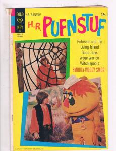 H.R. Puffnstuf #5 1971 VG 1st Print Gold Key Bronze Age Photo Cover Comicbo. DE3