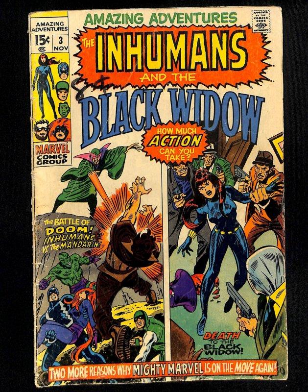 Amazing Adventures #3 Black Widow Inhumans!