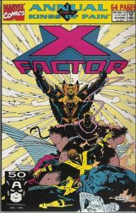 Marvel X-FACTOR (1986 Series) Annual #6 VF