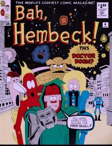 Hembeck (1980) #4 - 8.0 or Better - Superhero Satire Artist