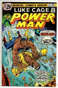 Luke Cage POWER MAN #31 VG+, 1973 1976, Kung-Fu, Hero for Hire, more in store