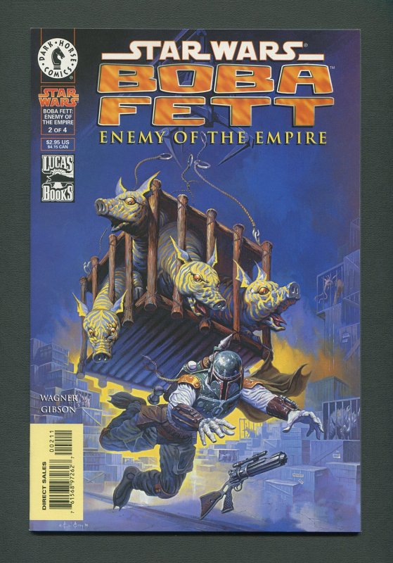 Star Wars Boba Fett #1  #2  #3 (SET)  9.8 NM-MT  / 1999