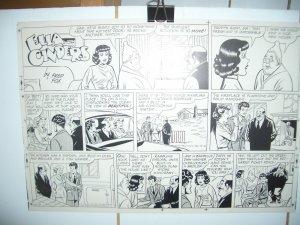 ELLA CINDERS COMICS PRODUCTION ART DEC 13 1953 FRED FOX VG
