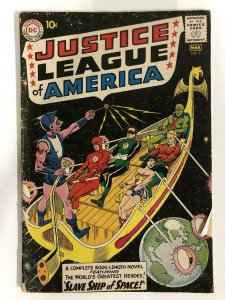JUSTICE LEAGUE OF AMERICA (1960-1987 DC) 3 FR Slave Shi COMICS BOOK