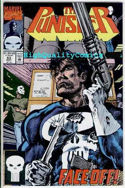 PUNISHER #63, NM+, Chuck Dixon, Powder, Blood, Texeira, more Marvel in store