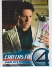 2005 Upper Deck Fantastic Four Movie A WAY BACK TO NORMAL #45