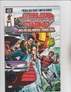 Epic Comics! Steelgrip Starkey Issue 5!