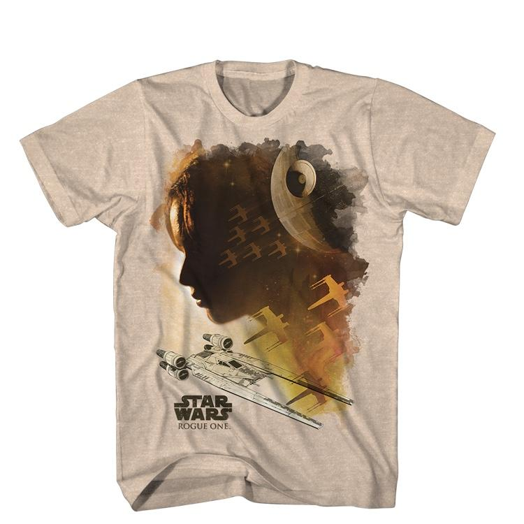 BRAND NEW STAR WARS T-SHIRTS ROGUE ONE