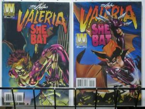VALERIA THE SHE BAT (1995 WINDJAMMER) 1-2  NEAL ADAMS