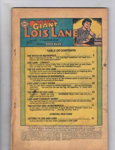 Supermans Girl Friend Lois Lane #77 PR DC Comics Giant Comic Book Sept 1967 DE34
