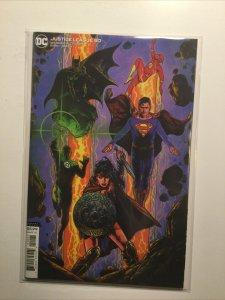 Justice League 50 Near Mint Nm Variant Dc Comics