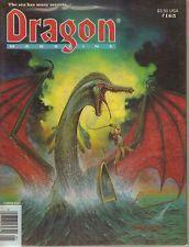 TSR DRAGON MAGAZINE #165 VF