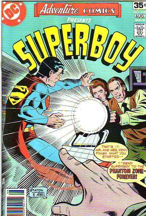Adventure Comics #458 (Aug-78) NM Super-High-Grade Superboy