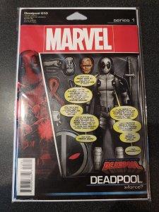 DEADPOOL#13~TRIPLE SIZED ISSUE~ACTION FIGURE VARIANT~NM~MARVEL COMICS BOOK