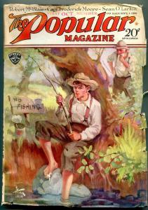 Popular Pulp Magazine 1st October 1929- Robert McBlair