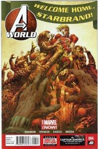 Avengers World #4 Jonathan Hickman Spider-Woman NM