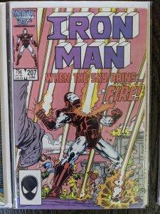 Iron Man #207 (1986)