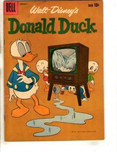 Donald Duck # 75 VG 1961 Dell Silver Age Comic Book Walt Disney Nephews BE1