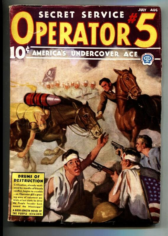 Operator #5 7/1937-Popular-hero pulp-Purple Invasion Series