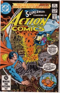 Action Comics   vol. 1   #529 FN Aquaman, Wolfman/Swan
